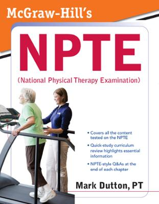 McGraw Hills NPTE National Physical Therapy Examination
