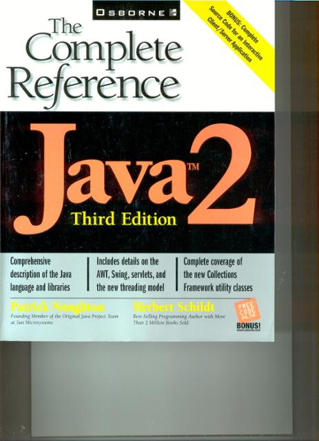 Java 2 The Complete Reference Ebook By Patrick Naughton Herbert
