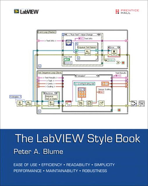 THE LABVIEW STYLE BOOK EPUB