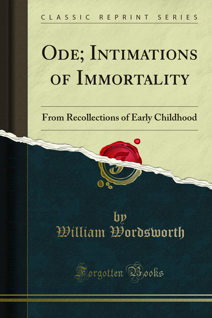 wordsworth childhood