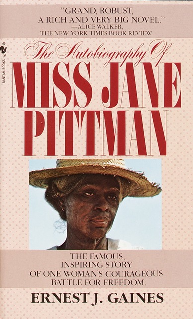 the autobiography of miss jane pittman essay Miss jane pittman essay by papernerd contributor, high autobiography of miss jane pittman helped to explain the struggle for equality from the 1860's to the.