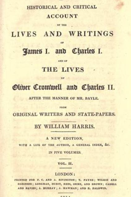 account of the life and works of oliver cromwell
