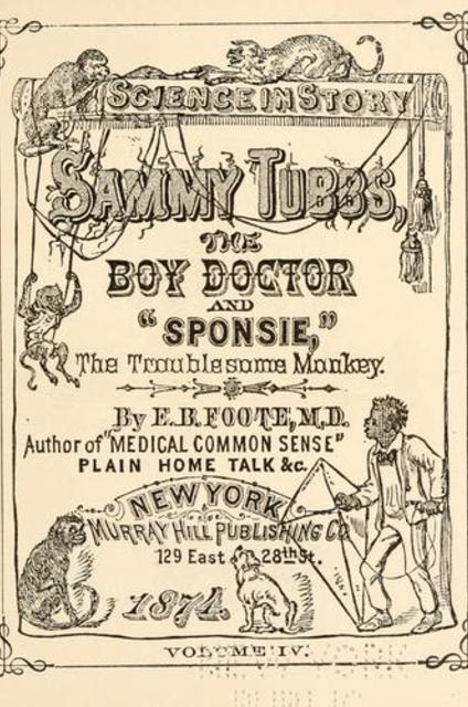 Science in story  Sammy Tubbs, the boy doctor, and ""