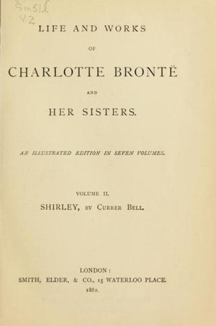 an overview of the lives and works of the bronte sisters Anne bronte was the youngest the order of the other children from youngest to oldest is: emily, branwell, charlotte, elizabeth and maria suchthings were called unfeminine and was considered manly work thetwo sisters wrote under the name of currer bell,ellis bell andacton bell.