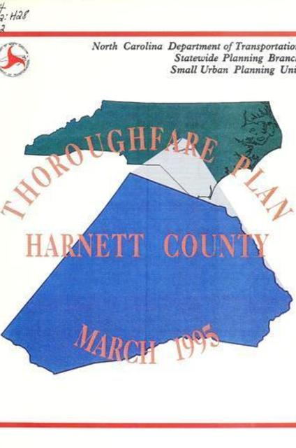 Harnett County thoroughfare plan (eBook) by State Library of