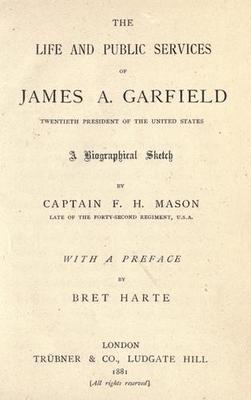 the life and administration of james a garfield Guiteau had sought a political office under garfield's administration and the early career of james a garfield  the life and letters of james abram garfield.