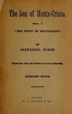 reviewing the novel the count of monte cristo by alexandre dumas