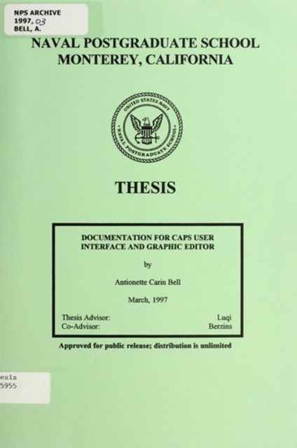 naval postgraduate school thesis 2012