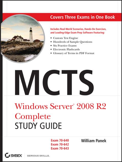 Mcts Windows Server 2008 R2 Complete Study Guide Ebook By William
