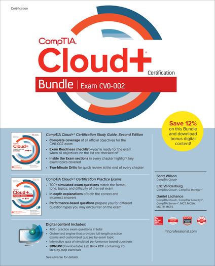 CompTIA Cloud+ Certification Bundle (Exam CV0-002)
