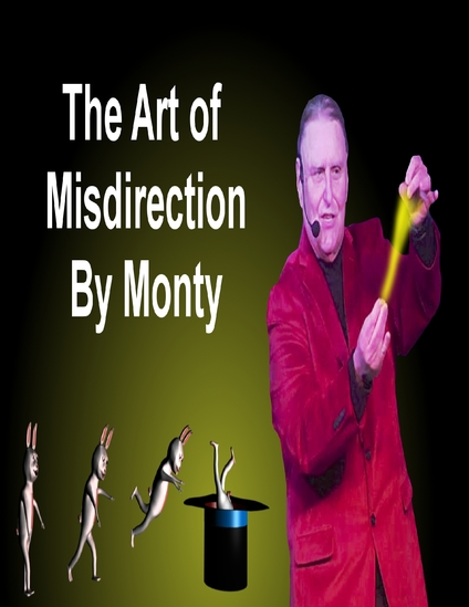 magic and the misdirection of audiences art essay In the art of thaumaturgy the cardinal rule is misdirection & # 8220  it is the agencies by which the prestidigitator casts the psychological enchantment that makes the misrepresentation work and the semblance seem existent & # 8221 .