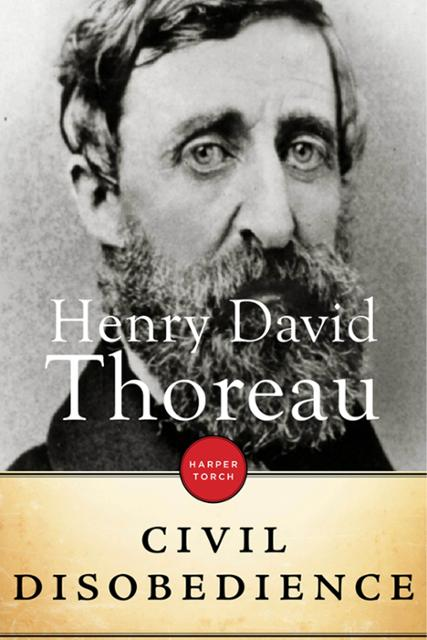 thoreaus essay on the duty of civil disobedience.