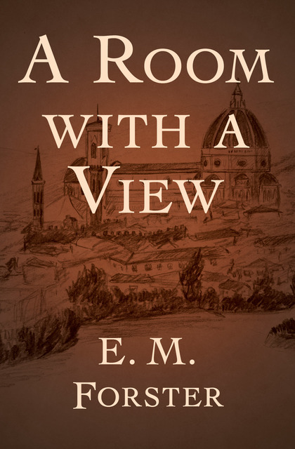 Classic Book Cover For Ereader : A room with view ebook by e m forster author