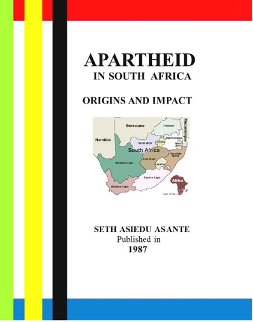 the origins of apartheid in south africa The republic of south africa (1961-present) during the 1960s, the implementation of apartheid and the repression of internal opposition continued despite growing world criticism of south africa's racially discriminatory policies and police violence.