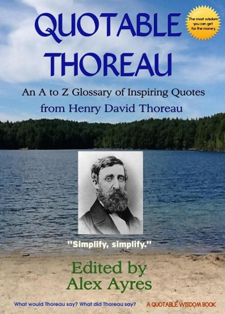 an analysis of henry david thoreaus view on life in nature Henry david thoreau's civil disobedience by: henry david thoreau his entire life he saw slaves get mistreated and watched as the government did nothing to.