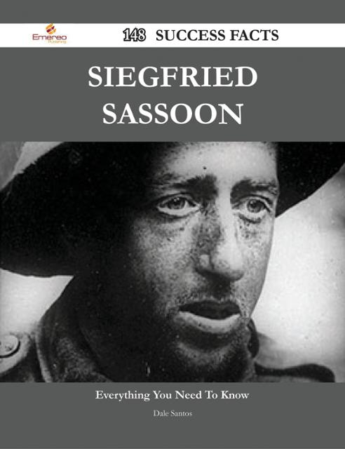 essay on siegfried sassoon