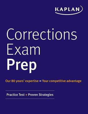 Kaplan publishing corrections exam prep practice tests proven strategies ebook fandeluxe Image collections