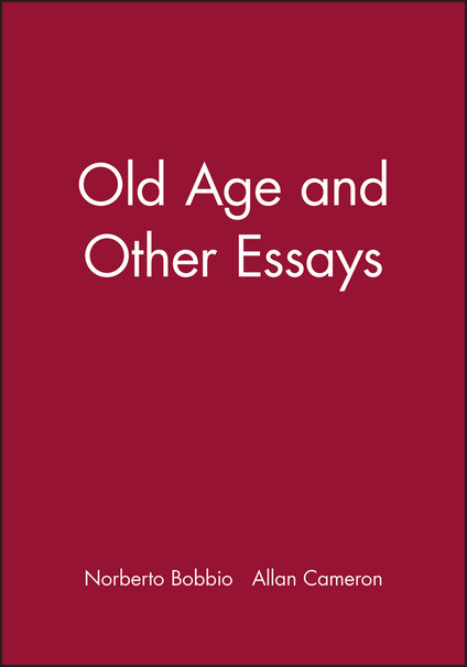 philosophy and old age essay Comparison of ancient greek philosophy and american comparison of ancient greek philosophy and american philosophy and maintaining good health at an old age.