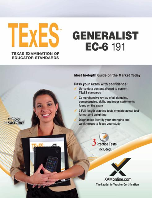 texes ec 6 generalist 191 Texes (191) generalist ec-6 exam secrets helps you ace the texas examinations of educator standards, without weeks and months of endless studying our comprehensive texes (191) generalist ec-6 exam secrets study guide is written by our exam experts, who painstakingly researched every topic and concept that you need to know to ace your test.