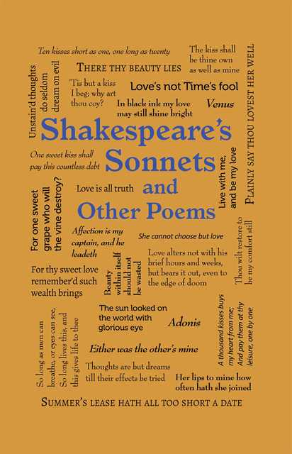 an analysis of the passage of time by william shakespeares fine sonnet Sonnets 71-74 are typically analyzed as a group, linked by the poet's thoughts of his own mortality however, sonnet 73 contains many of the themes common throughout the entire body of sonnets, including the.