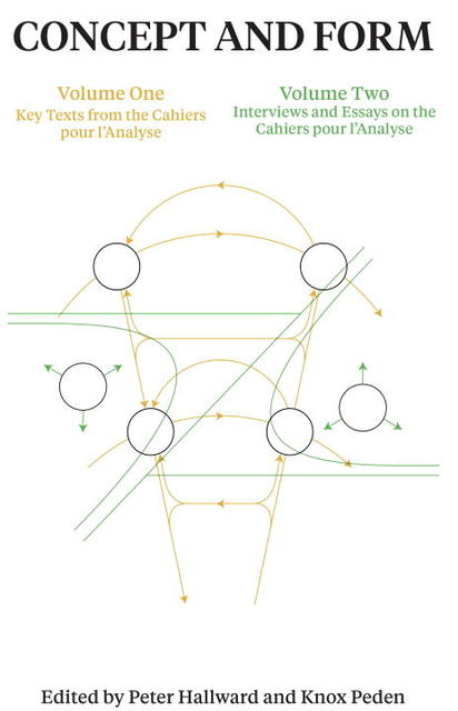 Concept and Form, Volume 1: Selections from the Cahiers pour lAnalyse