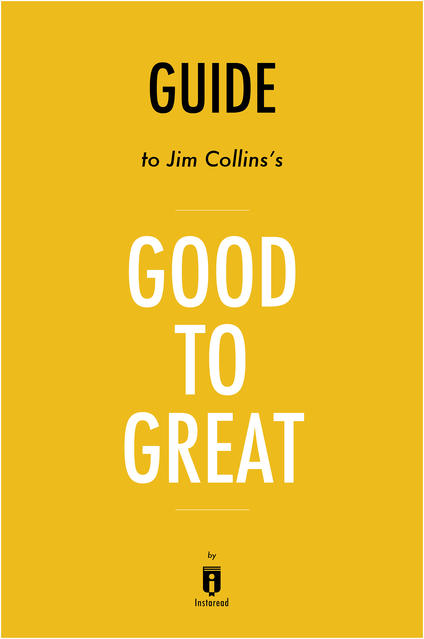 jim collins s good to great book Good to great: why some companies make the leap and others don't is a management book by jim c collins that describes how companies transition from being good companies to great companies, and how most companies fail to make the transition the book was published on october 16, 2001 greatness is defined as.